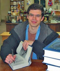 One such fine example of author, Christopher Paolini (© Rafael A. Ribeiro)