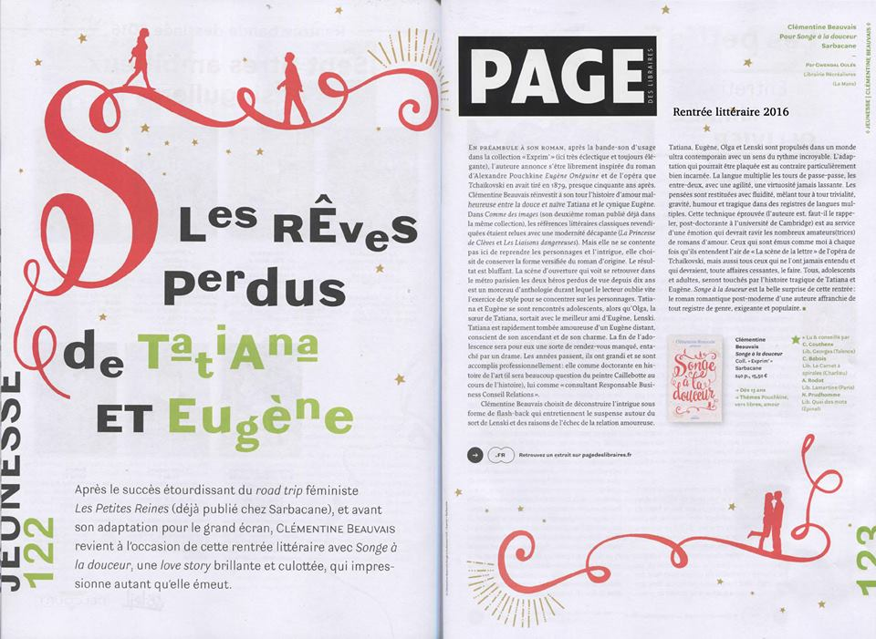 pagedeslibraires